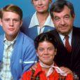 """Ron Howard, Marion Jones, Tom Bosley, Erin Moran, le cast de la série """"Happy Days"""" en 1974."""