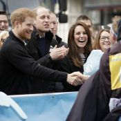 Kate Middleton, William et Harry: Survoltés, hilares et arrosés, un marathon fou