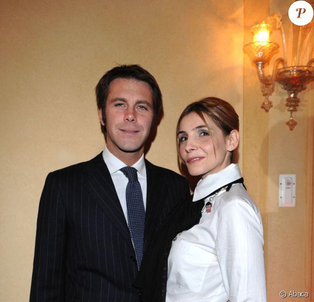 Le Prince Emmanuel Philibert de Savoie et son épouse Clotilde Courau