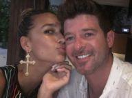 Robin Thicke en couple avec April Love : La jeune bombe pousse un coup de gueule