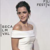 Emma Watson, craquante épaules nues face à Tom Hanks amoureux