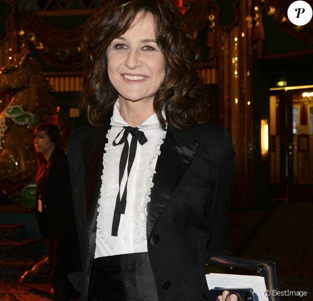 Valérie Lemercier - Soirée de la 28e Nuit des Molières au théâtre des Folies Bergère à Paris. Le 23 mai 2016 © Coadic Guirec / Bestimage