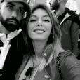 Sarah Lopez et Vincent Queijo en amoureux à Marrakech, Snapchat, 27 mars 2017