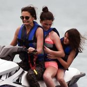 Katie Holmes : Sortie en jet-ski avec Suri, loin de Tom Cruise...