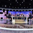 """Débat de l'entre-deux-tours entre Marine Le Pen (candidate du parti ''Front National"""" et Emmanuel Macron (candidat du mouvement ''En marche !'') à Saint-Denis, le 3 mai 2017. © Chamussy/Pool/Bestimage"""