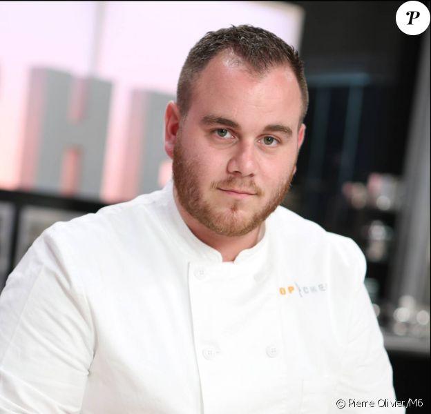 """Pierre Ciampi, candidat à """"Top Chef 2015""""."""