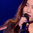 """Lou Mai dans """"The Voice 6"""", le 6 mai 2017 sur TF1."""