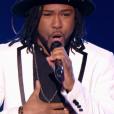 """R'Nold dans """"The Voice 6"""" le 6 mai 2017 sur TF1."""