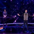 """Gianni Bee dans """"The Voice 6"""", le 6 mai 2017 sur TF1."""