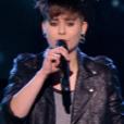 """Chloé dans """"The Voice 6"""" sur TF1 le 6 mai 2017."""