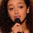 """Lucie dans """"The Voice 6"""" le 6 mai 2017 sur TF1."""