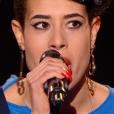 """Nathalia dans """"The Voice 6"""" le 6 mai 2017 sur TF1."""