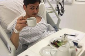 Tom Daley  Hospitalisé deux jours avant son mariage avec Dustin Lance  Black !