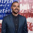 """Jesse Williams lors de la premiere du films """"The Birth of a Nation"""" à l'ArcLight Cinerrama Dome de Los Angelesle 21 septembre 2016."""