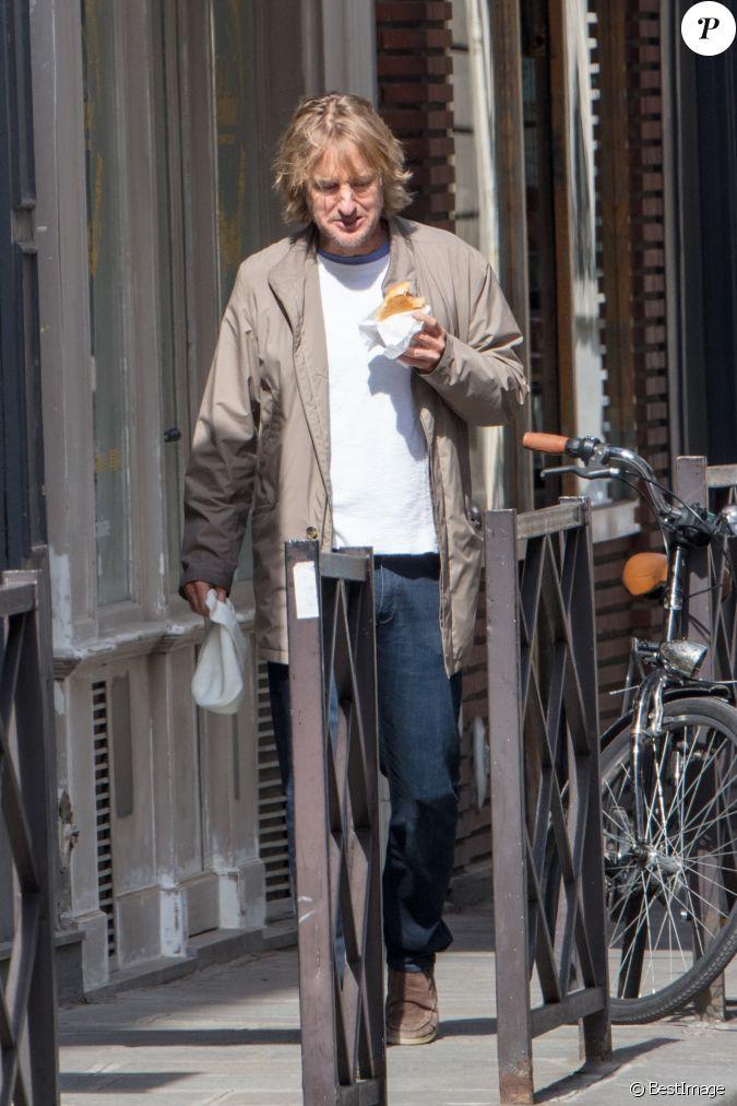 Owen Wilson Se Balade Dans Paris V Lo Le 20 Avril 2017
