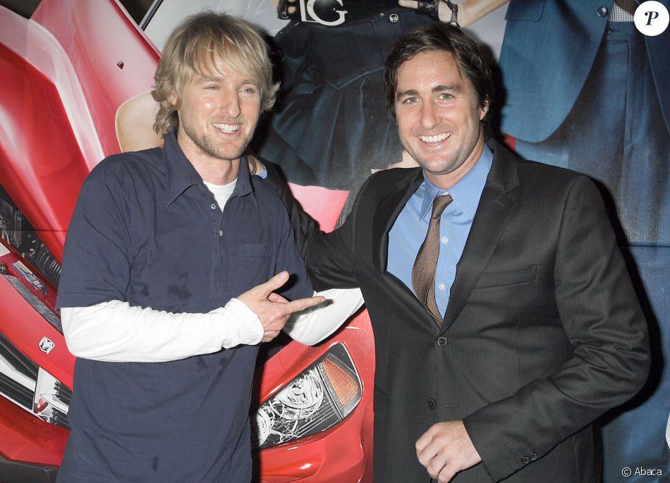 """Owen Wilson et son frère Luke Wildon à l'avant-première du film """"Ma super ex"""" à New York en juillet 2006"""