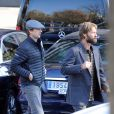 Luke Wilson et Andrew Wilson, les frères de Owen Wilson visitent Madrid, le 1er février 2016.