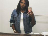 Serena Williams enceinte : Séance selfies aux toilettes pour la future maman