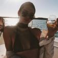 Kendall Jenneren vacances dans un lieu paradisiaque le 9 mai 2017