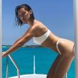 Bella Hadid en vacances dans un lieu paradisiaque le 9 mai 2017