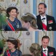 """Le prince héritier Haakon de Norvège a rasé sa barbe caractéristique (depuis le début des années 2000) au beau milieu du dîner de gala donné le 9 mai 2017 au palais royal à Oslo pour le double 80e anniversaire de ses parents le roi Harald V et la reine Sonja de Norvège. Une des """"animations"""" de la soirée, selon des témoins !"""