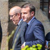 Obsèques de Corinne Erhel: Emmanuel Macron, digne et ému, dit adieu à son soldat