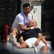Ricky Martin effondré : Il reconstitue une scène de meurtre