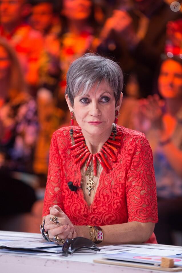 """Exclusif - Isabelle Morini-Bosc - 1000ème de l'émission """"Touche pas à mon poste"""" (TPMP) en prime time sur C8 à Boulogne-Billancourt le 27 avril 2017."""