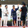 """Priyanka Chopra en promo pour le film """"Baywatch - Alerte à Malibu"""" à Miami, le 13 mai 2017. © CPA/Bestimage"""