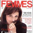 Cécilia Attias en couverture du magazine FEMMES