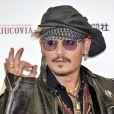 Johnny Depp lors des ''Classic Rock Awards 2016'' au Ryogoku Kokugikan à Tokyo, le 11 novembre 2016. © Future-Image via ZUMA Press/Bestimage
