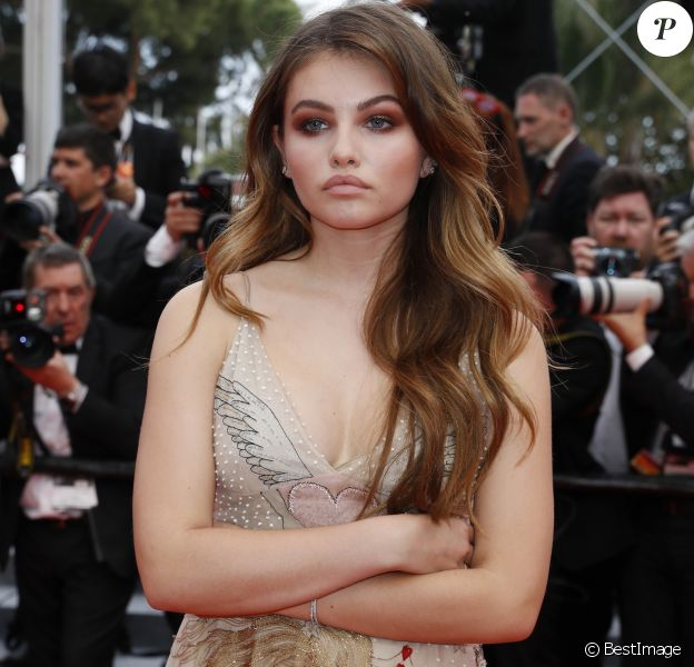 "Thylane Blondeau - Bijoux Messika - Montée des marches du film ""Nelyubov"" (Loveless) lors du 70ème Festival International du Film de Cannes. Le 18 mai 2017. © Borde-Jacovides-Moreau/Bestimage"