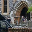 Derniers préparatifs à l'église St Mark où vont se marier Pippa Middleton et James Matthews à Englefield le 18 mai 2017  Chairs arrive at St Marks church Englefield for the final preparations for the wedding of pippa middleton and james matthews. May 18, 2017.18/05/2017 - Englefield