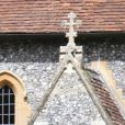 Derniers préparatifs à l'église St Mark où vont se marier Pippa Middleton et James Matthews à Englefield le 18 mai 2017.  St Marks church Englefield has final preparations for pippa middle tons wedding on May 18, 2017.18/05/2017 - Englefield