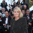 "Robin Wright - Montée des marches du film ""Les Fantômes d'Ismaël"" lors de la cérémonie d'ouverture du 70ème Festival International du Film de Cannes. Le 17 mai 2017 © Borde-Jacovides-Moreau / Bestimage  Red carpet for the movie ""Ismael's Ghosts"" (Les Fantomes d'Ismael) during opening ceremony of the 70th Cannes International Film festival. On may 17th 201717/05/2017 - Cannes"