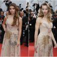 Thylane Blondeau et Svetlana Ustinova portent la même tenue au Festival de Cannes. © Borde-Jacovides-Moreau/Bestimage