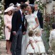Pippa Middleton et son mari James Matthews - Mariage de Pippa Middleton et James Matthews, en l'église St Mark's Englefield, Berkshire, Royaume Uni, le 20 mai 2017.