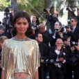 """Liya Kebede - Montée des marches du film """"120 battements par minute"""" lors du 70ème Festival International du Film de Cannes. Le 20 mai 2017. © Borde-Jacovides-Moreau / Bestimage"""