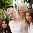 """Elle Fanning, Nicole Kidman, Sofia Coppola et Kirsten Dunst au photocall du film """"Les Proies"""" lors du 70ème Festival International du Film de Cannes, France, le 24 mai 2017. © Borde-Jacovides-Moreau/Bestimage"""