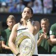 Marion Bartoli - Marion Bartoli a remporte son tout premier succes en grand chelem en disposant de l'Allemande Sabine Lisicki 6-1, 6-4 en finale de Wimbledon a Londres Le 6 juillet 2013