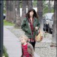 Liv Tyler emmène son fils Milo William à l'école à Los Angeles