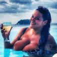 Sarah Fraisou en vacances en Thaïlande. Février 2017.