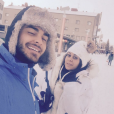 Shanna et Thibault partagent des photos de leur voyage en Laponie.