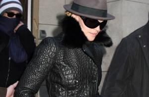 Madonna et Guy Ritchie ensemble à New York... pour les enfants !