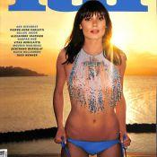 "Ana Girardot : Sexy et en (très) petite tenue pour le magazine ""Lui"""