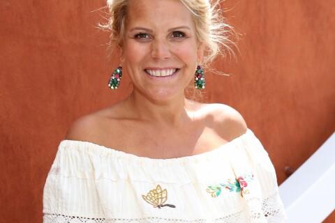 Laura Tenoudji enceinte : Sans Christian Estrosi mais rayonnante à Roland-Garros