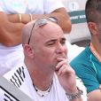 Andre Agassi dans les tribunes lors des internationaux de France de Roland Garros à Paris, le 31 mai 2017. © - Dominique Jacovides - Cyril Moreau/ Bestimage