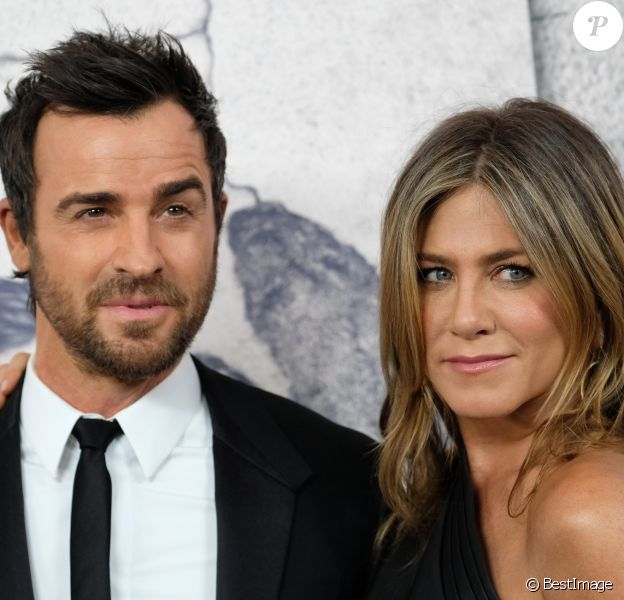 Justin Theroux et sa femme Jennifer Aniston à la première de la saison 3 de ''The Leftovers au Avalon Hollywood à Hollywood, le 4 avril 2017 © Chris Delmas/Bestimage