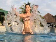 Iris Mittenaere (Miss Univers), sublime en bikini, ose un slow motion torride !