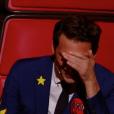 """Mika, le 3 juin 2017 lors de la demi-finale de """"The Voice 6"""" sur TF1."""